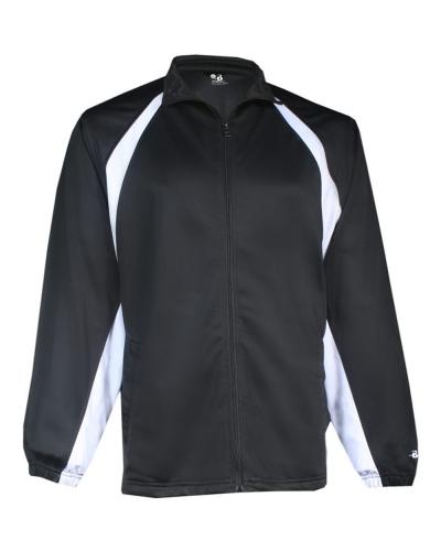 Hook Brushed Tricot Jacket