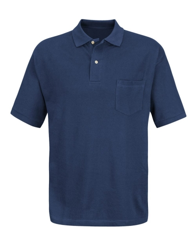 Inner Harbor Basic Pique Polo With Pocket