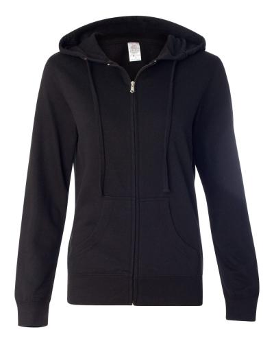 Juniors' Heavenly Fleece Full-Zip Hooded Sweatshirt