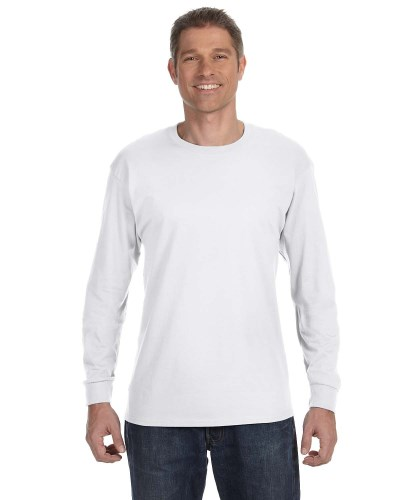 Gildan G540 Adult Cotton Long-Sleeve T-Shirt