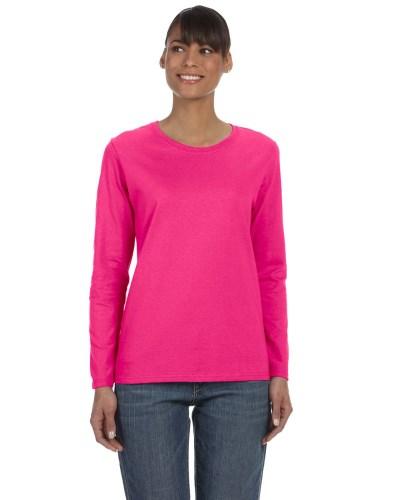 Gildan G540L Ladies Cotton Missy Fit Long-Sleeve T-Shirt