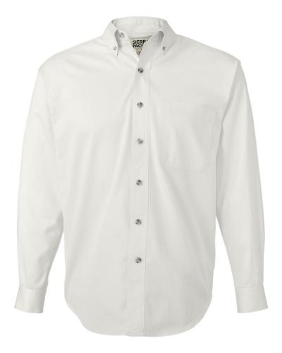 Long Sleeve Cotton Twill Shirt Tall Sizes