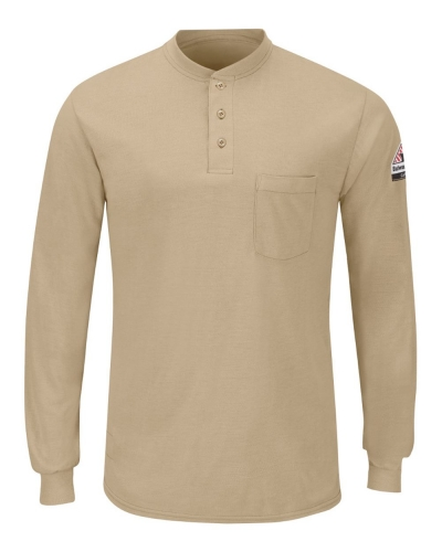 Long Sleeve Henley - Long Sizes