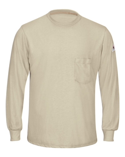 Long Sleeve Lightweight T-Shirt - Long Sizes