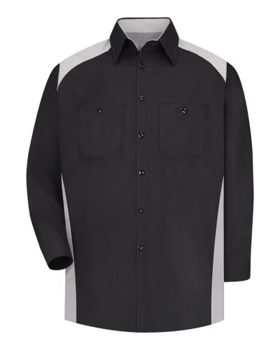 Long Sleeve Motorsports Shirt - Long Sizes