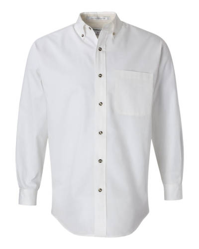 Long Sleeve Twill Shirt Tall Sizes