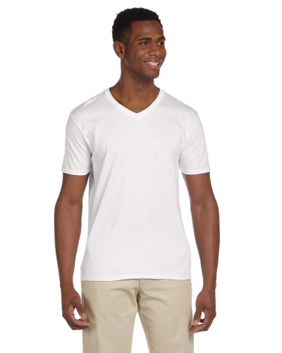 Adult Softstyle® 4.5 oz. V-Neck T-Shirt
