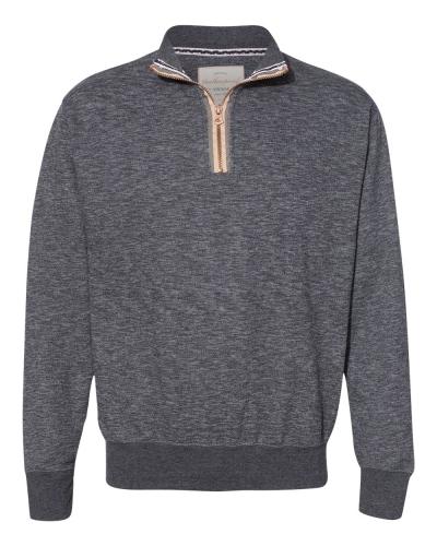 Marled Quarter-Zip Sweatshirt