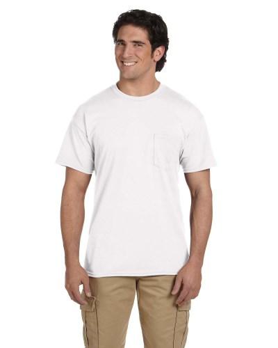 Adult DryBlend® 5.5 oz. 50/50 Pocket T-Shirt