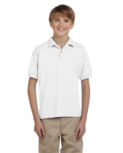 Youth DryBlend® 6 oz. 50/50 Jersey Polo