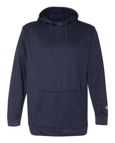 Mesh Fleece Hooded Sweatshirt