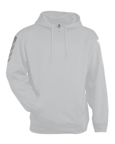 Metallic Fleece Hood