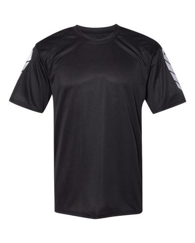 Metallic Print Short Sleeve T-Shirt