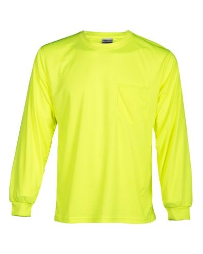 Microfiber Polyester Long Sleeve T-Shirt