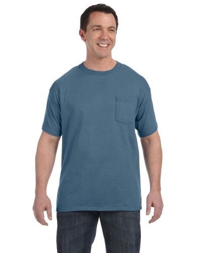 Men's 6.1 oz. Tagless® Pocket T-Shirt