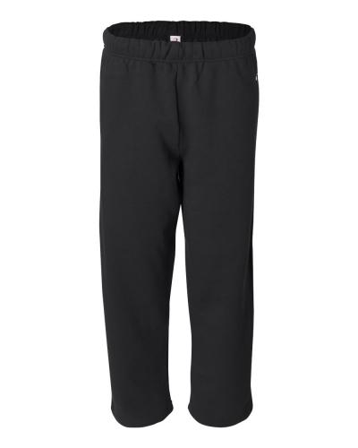 Open-Bottom Sweatpants
