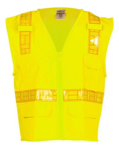 Oralite® Solid Front with Mesh Back Vest