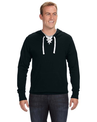 Adult Sport Lace Jersey Hood