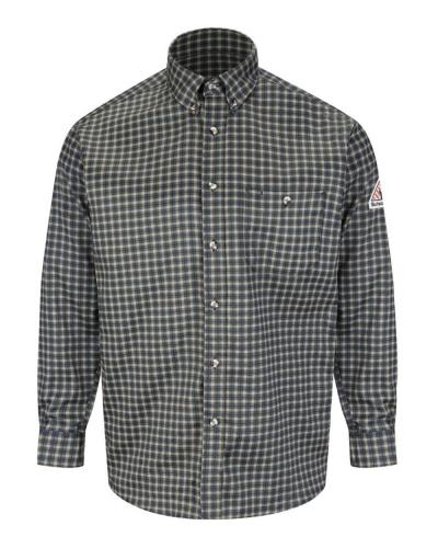 Plaid Dress Shirt - EXCEL FR® ComforTouch - Long Sizes