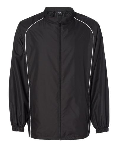 Poly Dobby Full-Zip Jacket