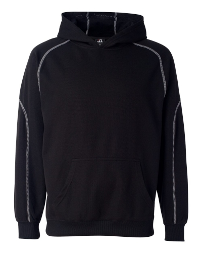 Poly Mesh Hooded Pullover