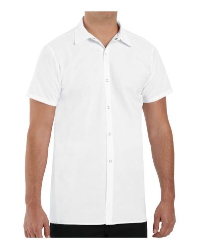 Poly/Cotton Cook Shirt Longer Length