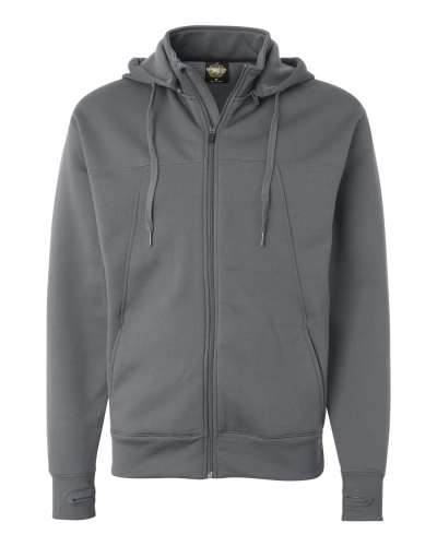 Poly-Tech Full-Zip Hooded Sweatshirt