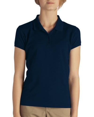 Girls' Short-Sleeve Performance Polo