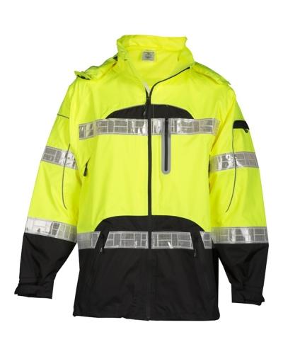 Premium Black Series Rainwear Jacket