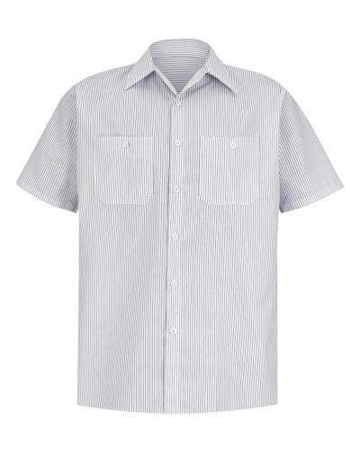 Premium Short Sleeve Work Shirt Long Sizes