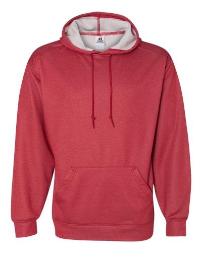Pro Heather Hooded Sweatshirt