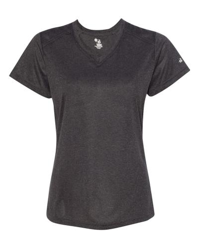 Pro Women's Heather V-Neck T-Shirt