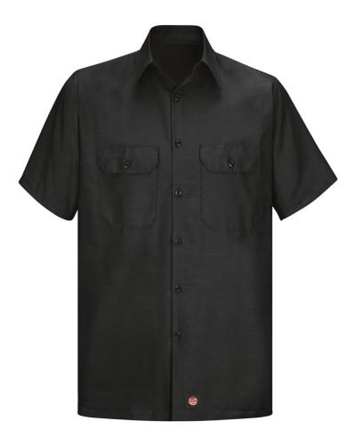 Ripstop Short Sleeve Work Shirt