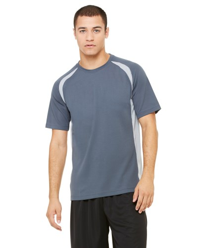 Unisex Colorblocked Short-Sleeve T-Shirt
