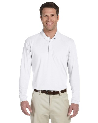 Men's 5.6 oz. Easy Blend™ Long-Sleeve Polo