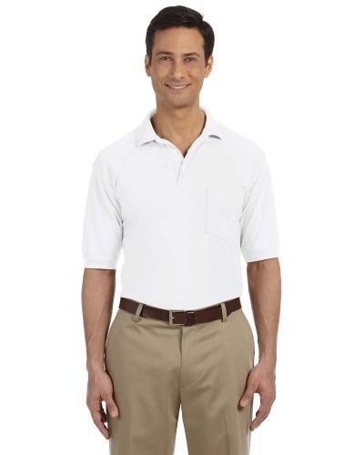 Men's 5.6 oz. Easy Blend™ Polo withPocket