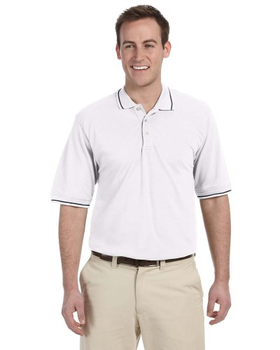 Men's 5.6 oz. Tipped Easy Blend™ Polo