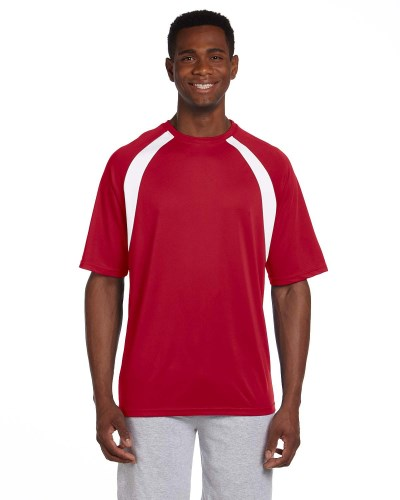 4.2 oz. Athletic Sport Colorblock T-Shirt