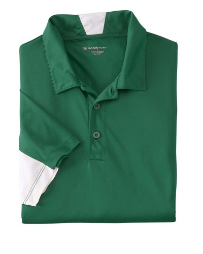 Men's Side Blocked Micro-Pique Polo