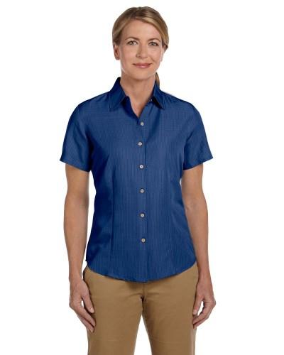 Ladies' Barbados Textured Camp Shirt