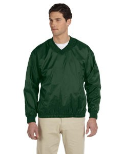 Athletic V-Neck Pullover Jacket