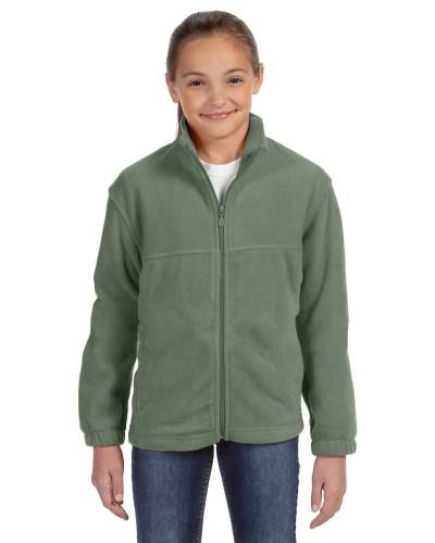 Youth 8 oz. Full-Zip Fleece