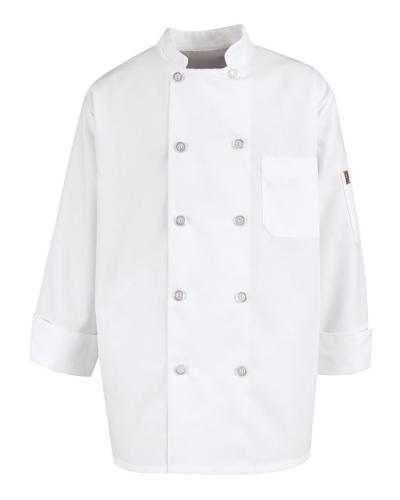 Vented Back Chef Coat
