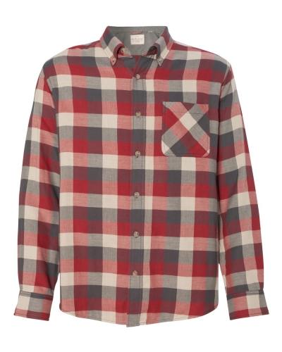 Vintage Brushed Flannel Long Sleeve Shirt