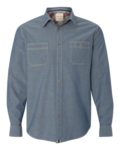 Vintage Chambray Long Sleeve Shirt