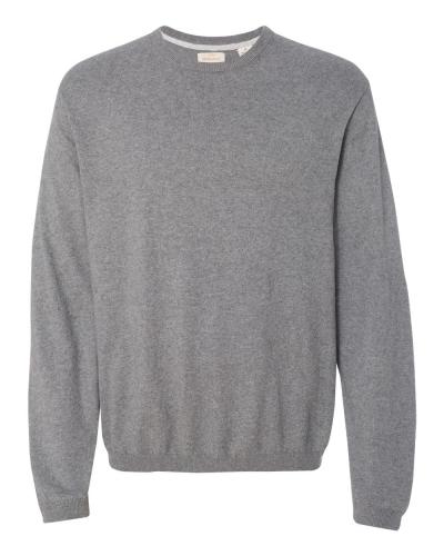 Vintage Cotton Cashmere Crewneck Sweater