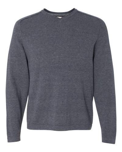 Vintage V-Neck Cotton Sweater
