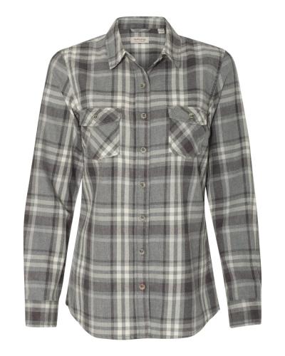 Vintage Women's Burnout Flannel Shirt
