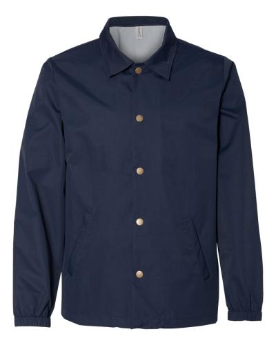 Water-Resistant Windbreaker Coach's Jacket