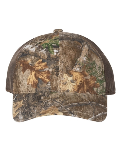 Weathered Camo Cap